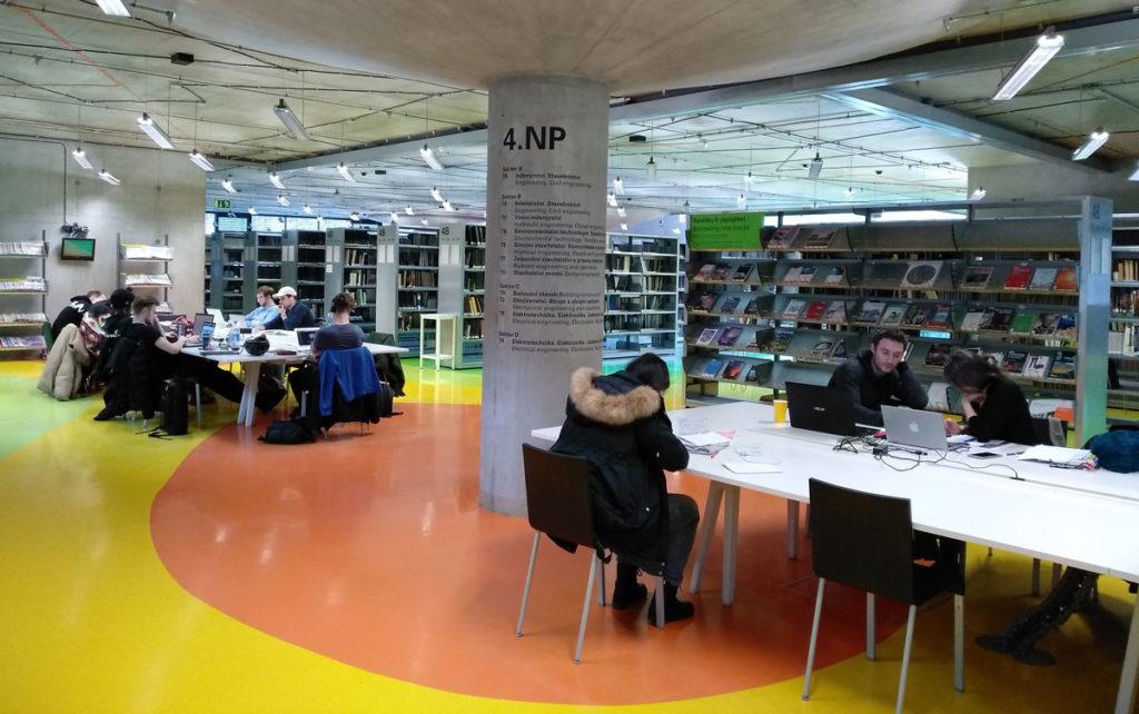 бібліотека празького технічного університету